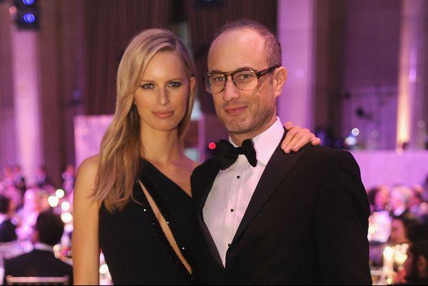 Andy Boose, ici avec Karolina Kurkova à un gala de l'AmfAR en février 2014.