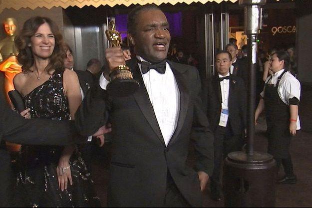 Terry Bryant, suspect du vol de l'Oscar de Frances McDormand.