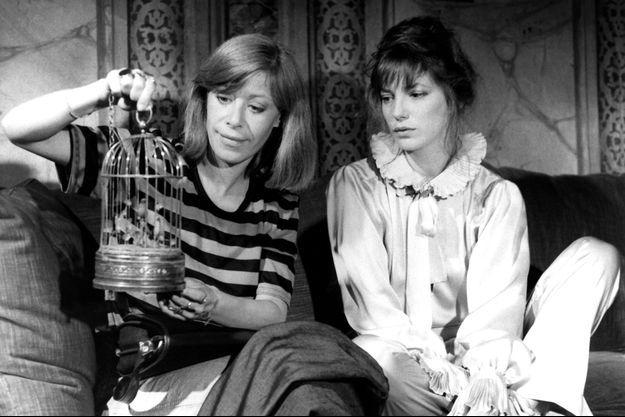 """Florence Giorgetti aux côtés de Jane Birkin dans """"Melancoly Baby"""" de Clarisse Gabus."""
