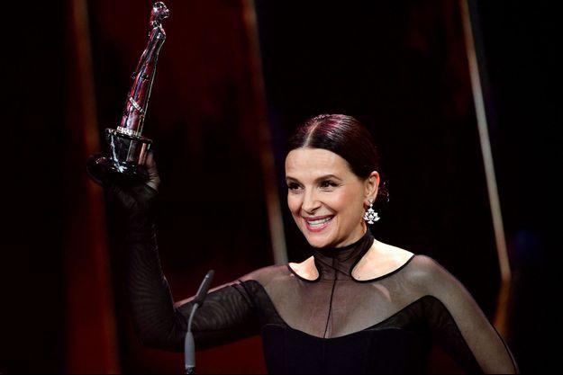 Juliette Binoche a remporté un prix pour l'ensemble de sa carrière.