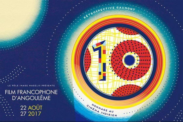 L'affiche du 10e Festival du film francophone d'Angoulême