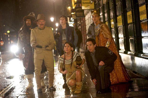 De Shawn Levy, avec Ben Stiller, Robin Williams, Owen Wilson…