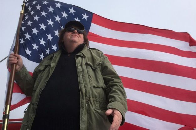 "Michael Moore dans ""Where to Invade Next"""