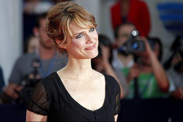 La réalisatrice Lynn Shelton à Deauville en 2009.