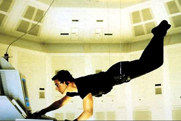 """Tom Cruise dans """"Mission: Impossible""""."""