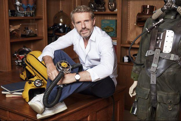 Le comédien Lambert Wilson au sein du Musée océanographique de Monaco, qui fut dirigé par le commandant Cousteau