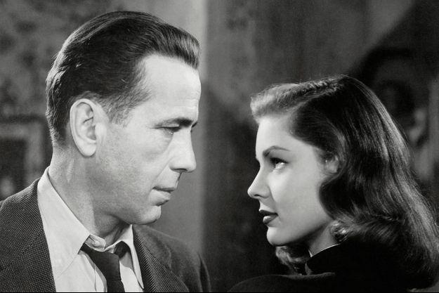 1944. Lauren Bacall et Humphrey Bogart.