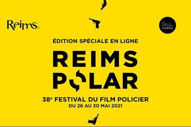 L'affiche du 38e Festival du Film Policier.