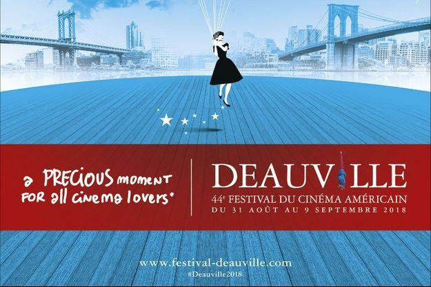 L'affiche du 44e Festival de Deauville.