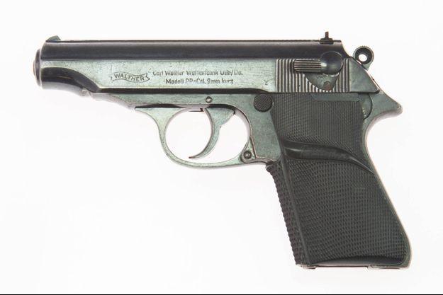 Le célèbre pistolet Walther PP