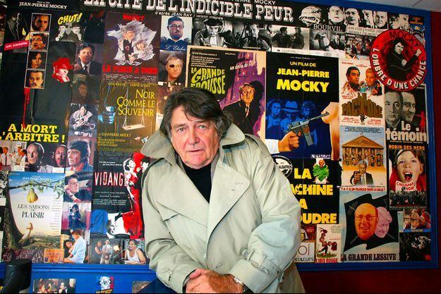 Jean-Pierre Mocky en octobre 2002 dans son cinéma parisien, Le Brady.