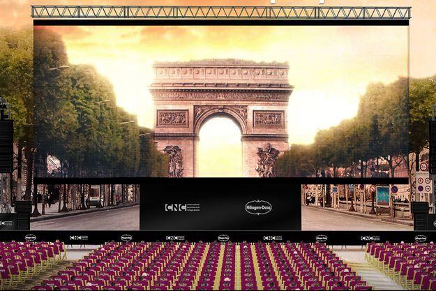 """L'affiche de la deuxième édition d'""""Un Dimanche au cinéma""""."""