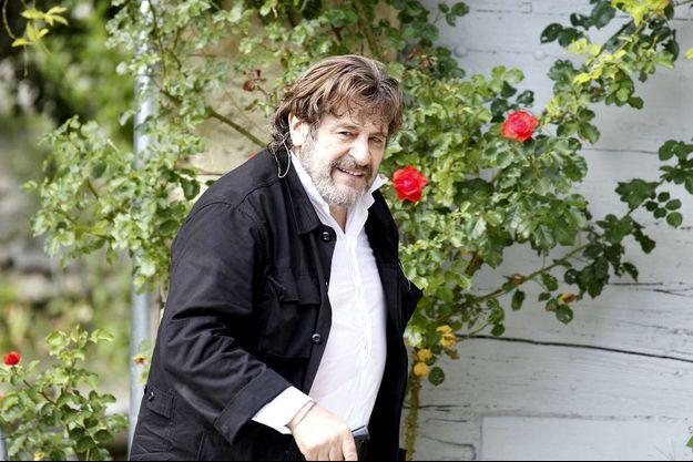 Jacques Frantz en juillet 2011, à Grignan.