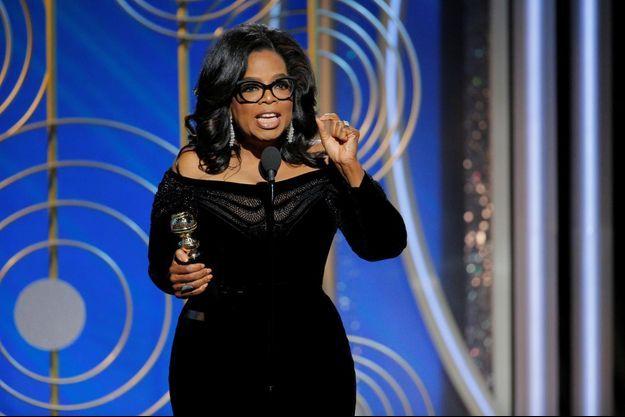 Oprah Winfrey a délivré le discours le plus puissant de la soirée.