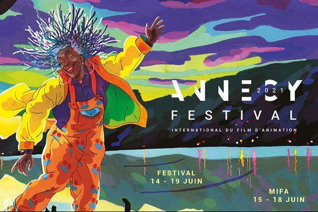 L'affiche du Festival d'animation d'Annecy.