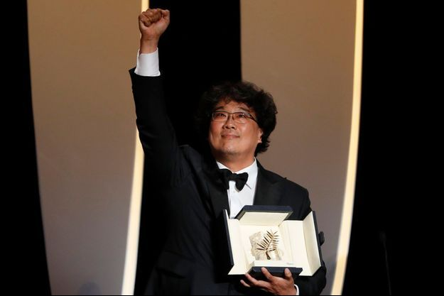 Bong Joon-ho, le dernier lauréat de la Palme d'or.