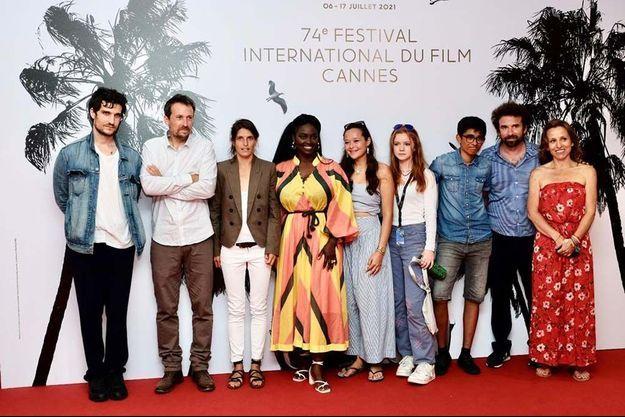 Les réalisateurs et acteurs des films de la sélection consacrée aux films environnementaux.