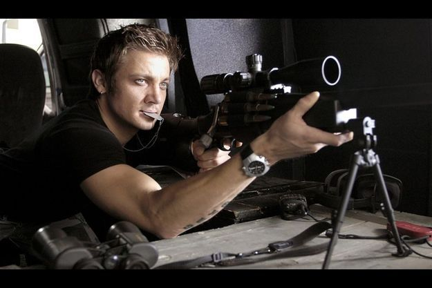 "Jeremy Renner dans ""Jason Bourne: L'héritage""."