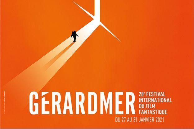 L'affiche du 28e Festival de Gérardmer.