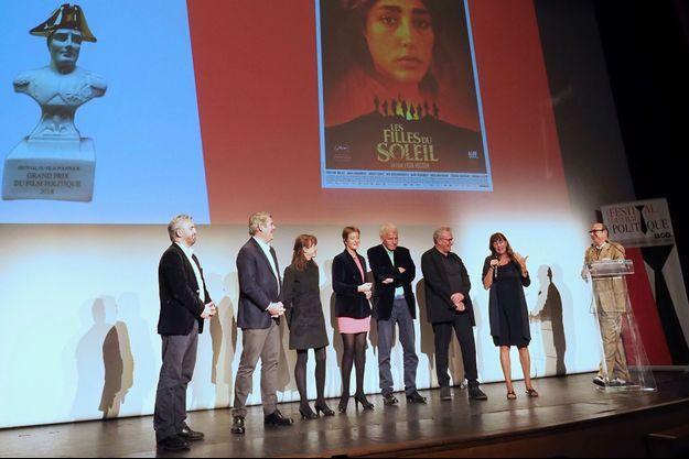 """Le film """"Les Filles du soleil"""" a reçu le grand prix du jury."""