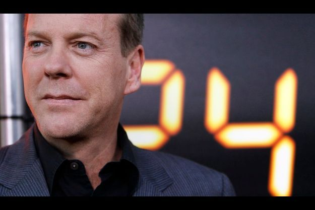 Kiefer Sutherland, l'interprète de l'agent secret Jack Bauer.