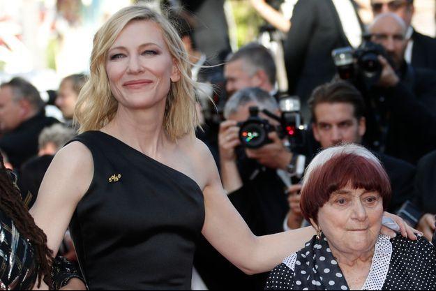 Cate Blanchett et Agnès Varda