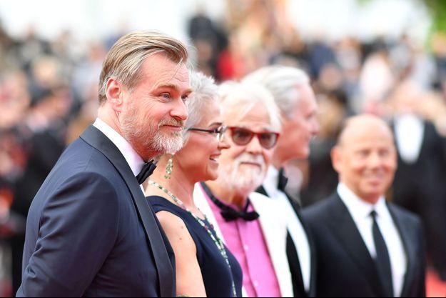 Christopher Nolan, Katharina Kubrick et Jan Harlan