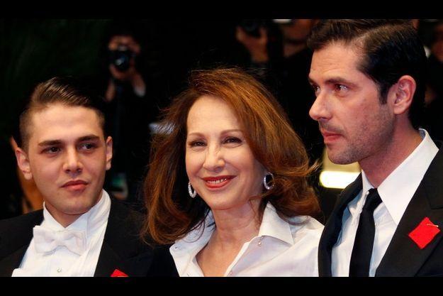Xavier Dolan, Nathalie Baye et Melvil Poupaud.