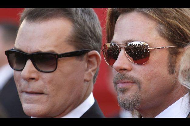 Ray Liotta et Brad Pitt.