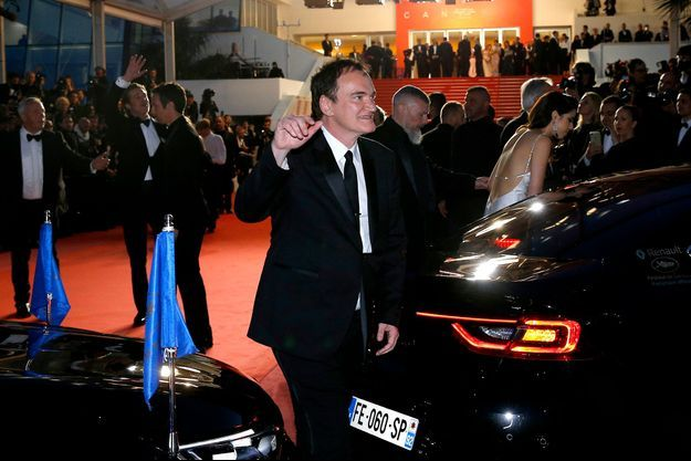 Quentin Tarantino après la projection de «Once Upon a Time in Hollywood».