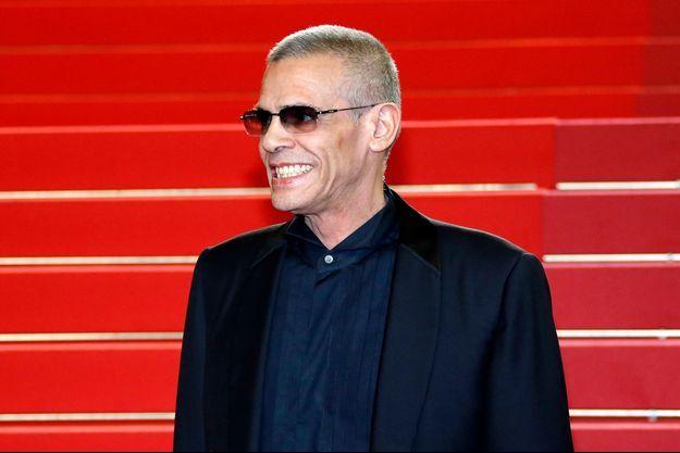 Abdellatif Kechiche sur le tapis rouge du Festival de Cannes 2019.