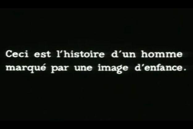 """Une citation de """"La Jetée""""."""