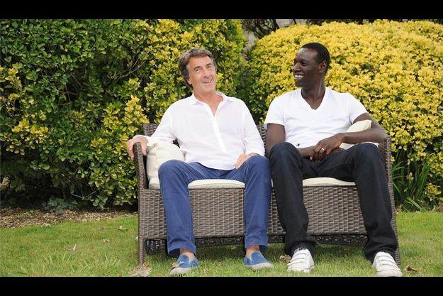 Août 2011. François Cluzet et Omar Sy sont venus présenter « Intouchables » en avant-première au Festival du film francophone d'Angoulême.