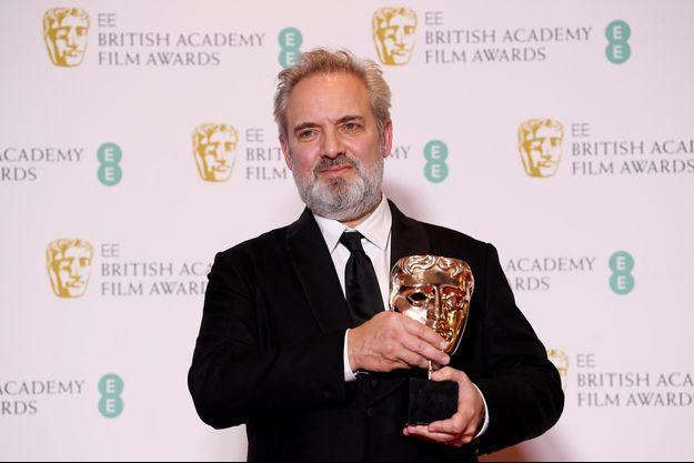 Le réalisateur Sam Mendes a reçu un Bafta dimanche soir à Londres.