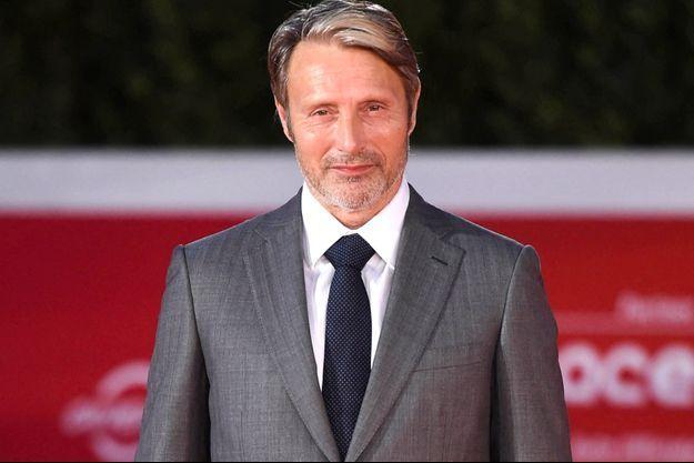 Mads Mikkelsen en octobre 2020, à Rome.
