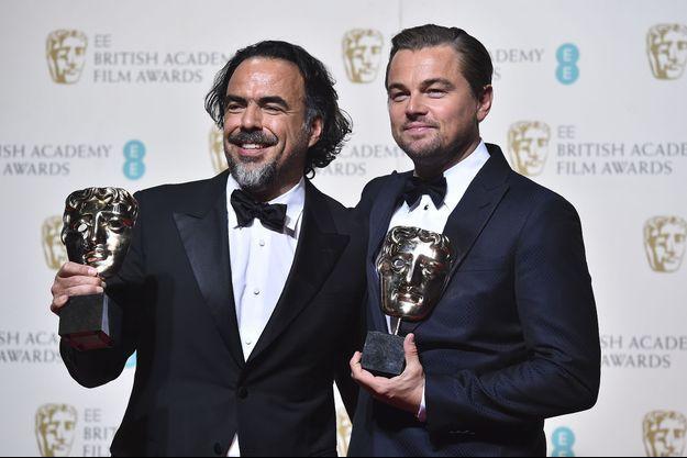 Alejandro Gonzalez Inarritu et Leonardo DiCaprio