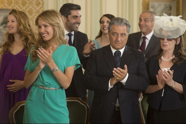 """""""Qu'est-ce qu'on a fait au bon Dieu"""", numéro 1 du box-office français en 2014."""