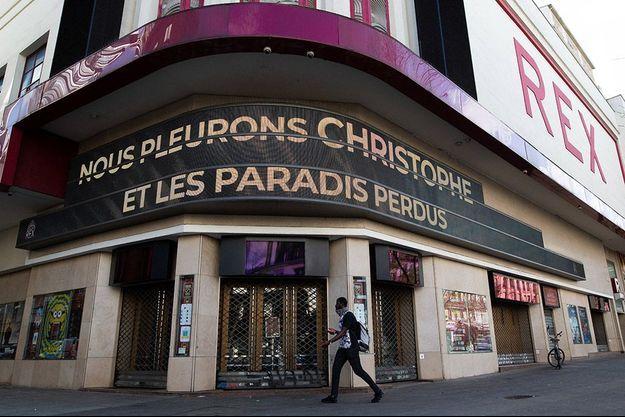 Le Grand Rex de Paris a rendu hommage à Christophe.