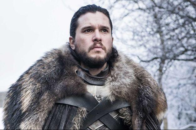 """Kit Harington dans le rôle de Jon Snow dans """"Game of Thrones""""."""