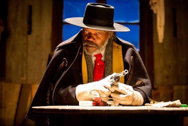 """Samuel L. Jackson dans """"Les Huit salopards""""."""