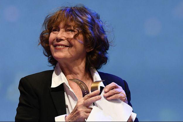 Jane Birkin a reçu un bel hommage de la part de l'Académie des Lumières.