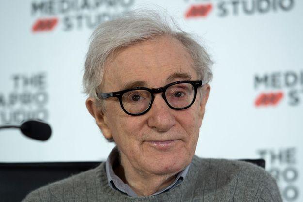 Woody Allen à San Sebastian en juillet 2019.