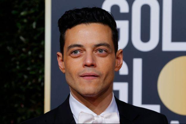 """Rami Malek a obtenu le Golden Globe du meilleur acteur dans un rôle dramatique pour sa performance en Freddie Mercury dans """"Bohemian Rhapsody""""."""