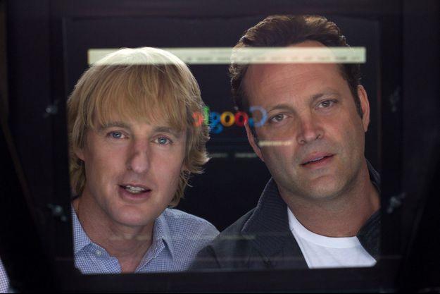 """Owen Wilson et Vincent Vaughn dans """"Les Stagiaires"""""""
