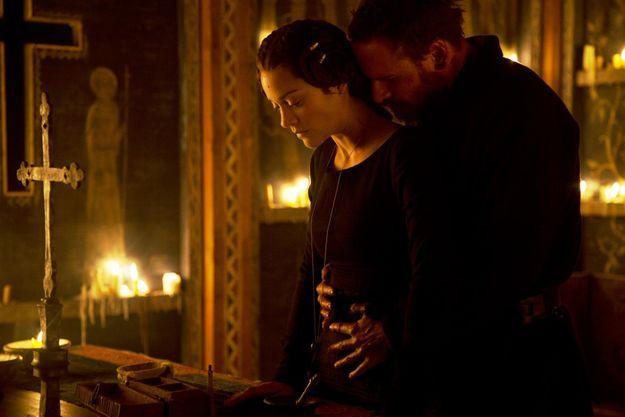 "Marion Cotillard et Michael Fassbender dans ""Macbeth"""