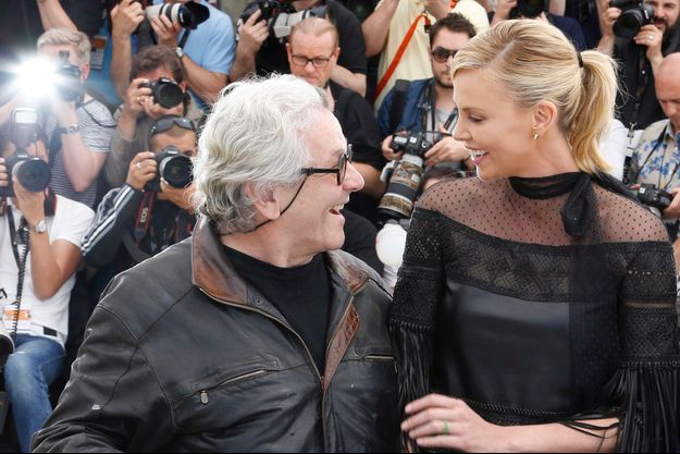 George Miller et Charlize Theron