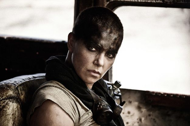 "Charlize Theron dans ""Mad Max: Fury Road"""