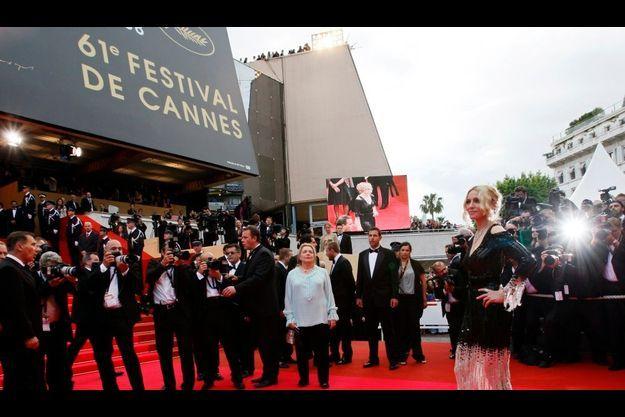 Madonna au Festival de Cannes en 2008.