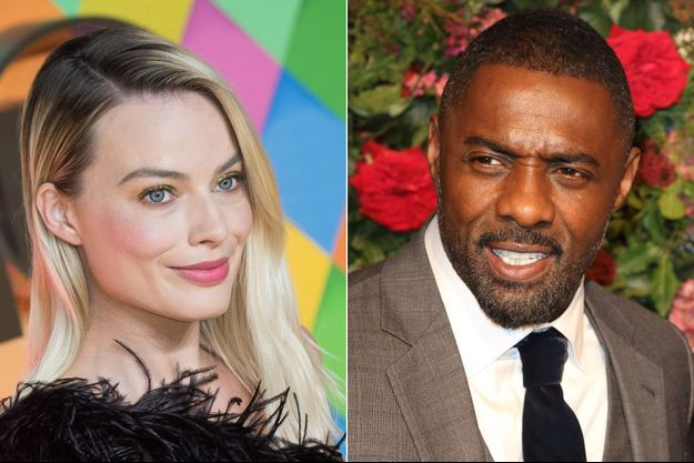 Margot Robbie Idris Elba