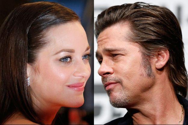 Marion Cotillard et Brad Pitt réunis à l'écran.